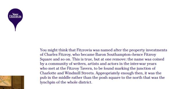 Fitzrovia Handout