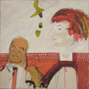 Howard Hodgkin's portrait of Adrian and Corinne Heath