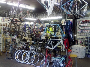 Workers seize control of bicycle shop
