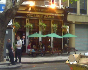 College Arms in Store Street