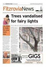 Fitzrovia News front page