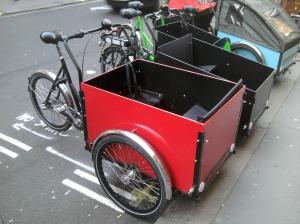 Christiania cargo trike