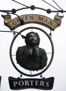 1. Green Man, 383 Euston Road (opp Great Portland St station)