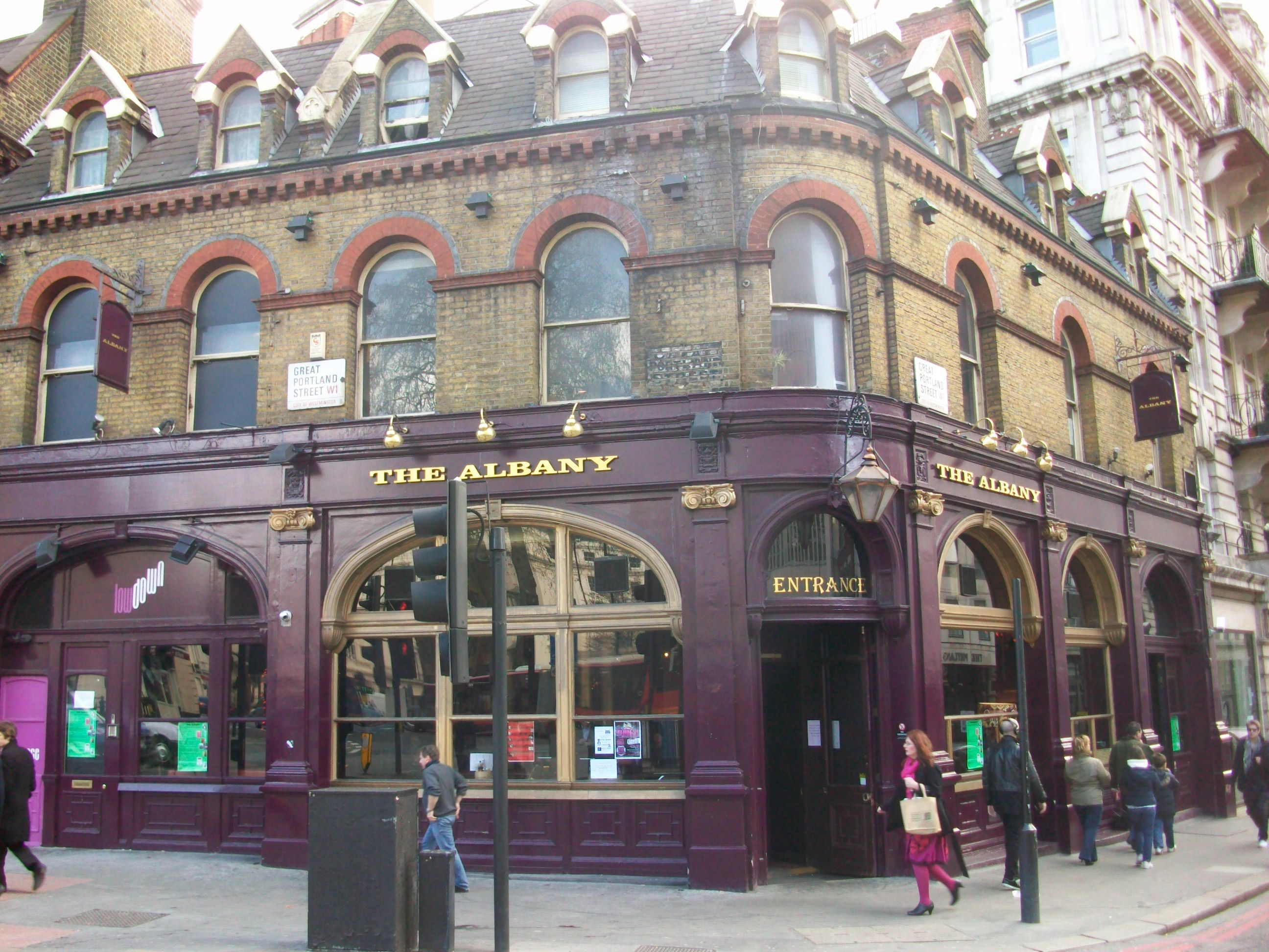 fitzrovia pubs  2  the albany  240 great portland street