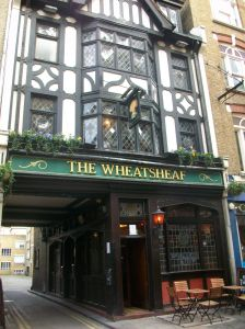 The Wheatsheaf. The second home of Maclaren-Ross and the current home of The Sohemians