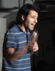 Kaveh Pourvand performing