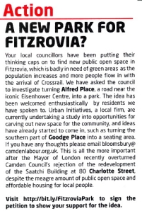 Part of a councillors' newsletter.