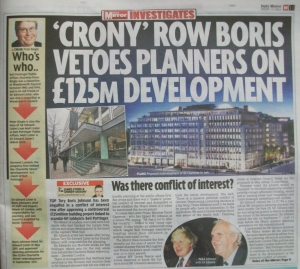 Pictures and story on Daily Mirror page.