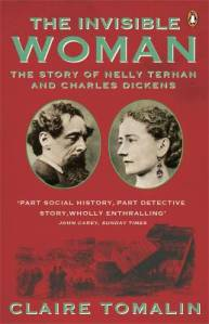Cover of book with picture of Charles Dickens and Nelly Ternan.