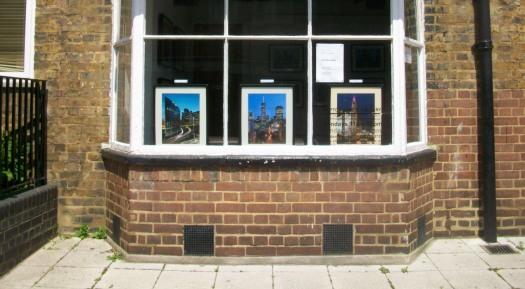 Art gallery window.