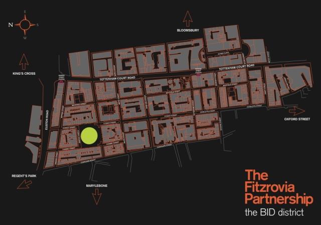 Map of BID.