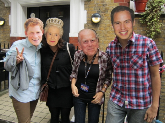 Royal masks.