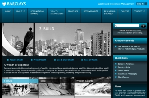 Website page.