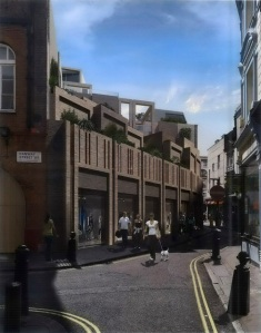 Residents and businesses  are concerned about the Hanway Street Conservation