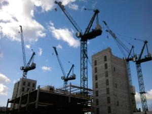 Fitzroy Place construction site.