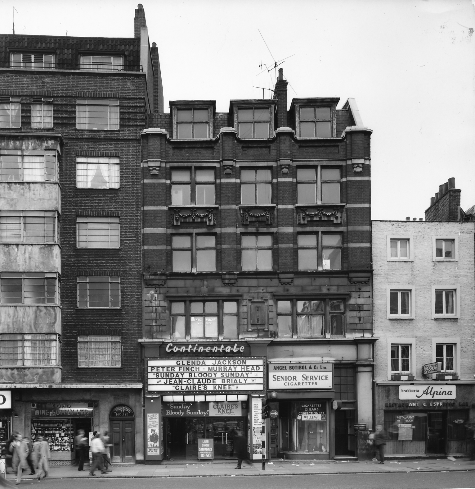 Tottenham: Tottenham Court Road Before Redevelopment In The 1970s