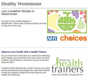 Healthy Westminster.