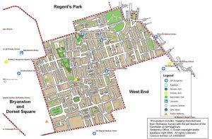 Ward map.