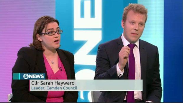 Sarah Hayward and Robert Oxley.