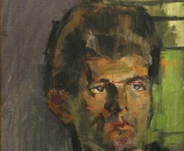 Portrait of Mattei Radev.