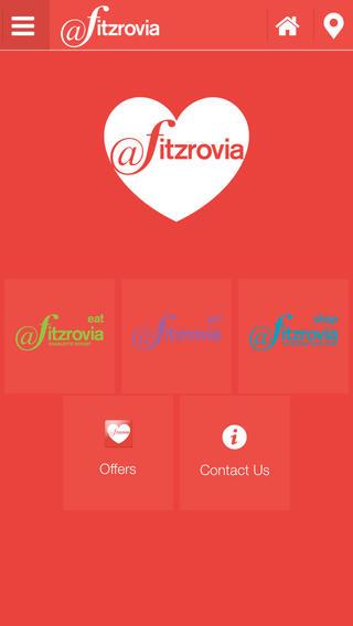 Screen shot of Love Fitzrovia.