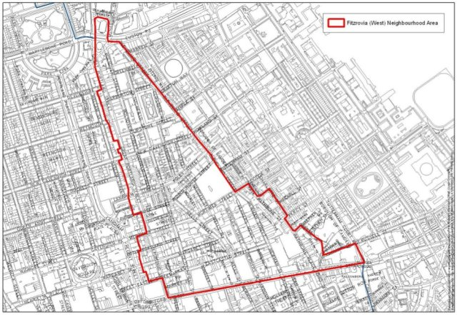 Westminster council settles Fitzrovia and Marylebone neighbourhood area boundaries