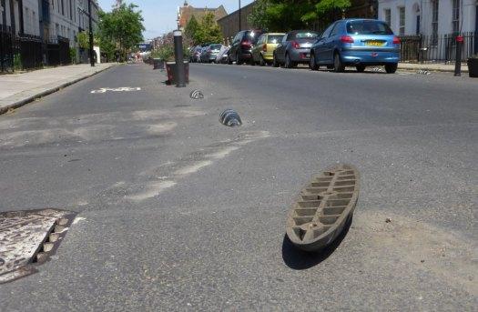Broken road armadillo.