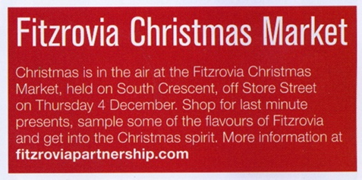 Wrong date on the Fitzrovia BID's website was repeated in Camden Council's printed magazine.