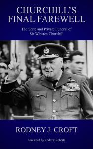 Cover of book, Churchill's Final Farewell.