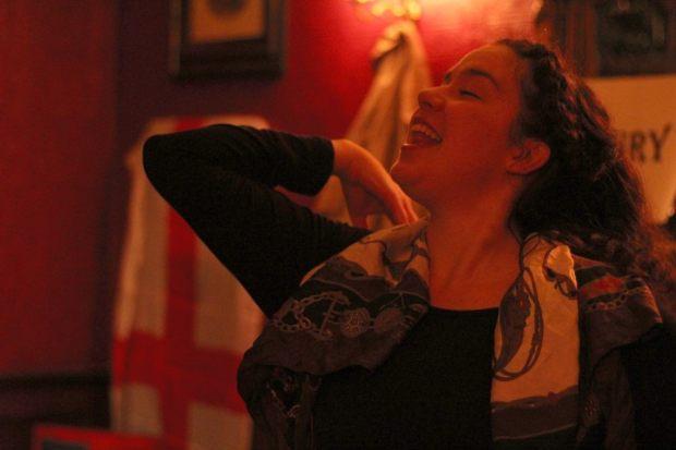 Eleanor Dillion-Reams on stage.