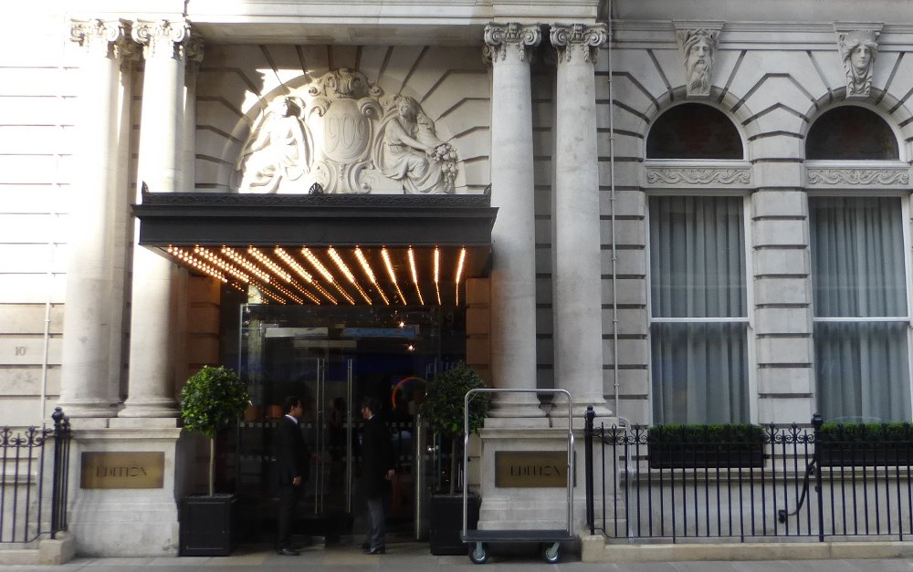 London Edition Hotel Addreb
