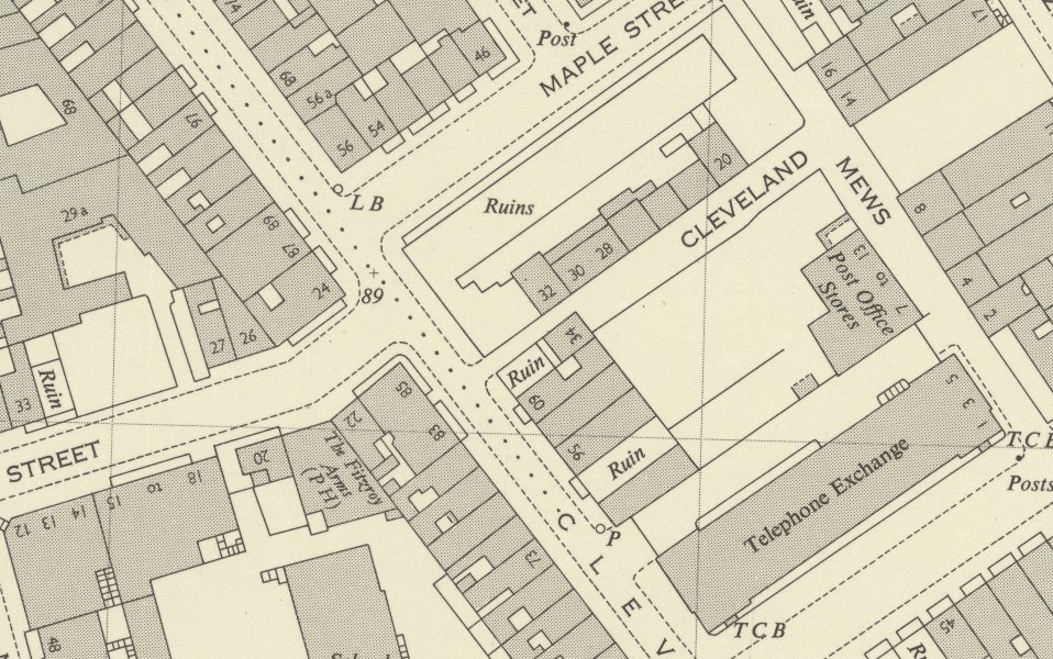newly digitised maps reveal details of post