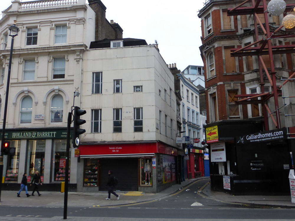 Developer Buys Oxford Street And Hanway Street Buildings