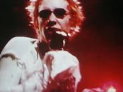 Johnny Rotten aka John Lydon, singing.