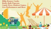 Part of poster for summer picnic.
