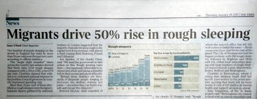 Times news headline.