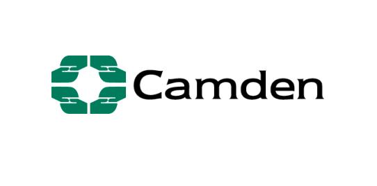 Camden Council logo.