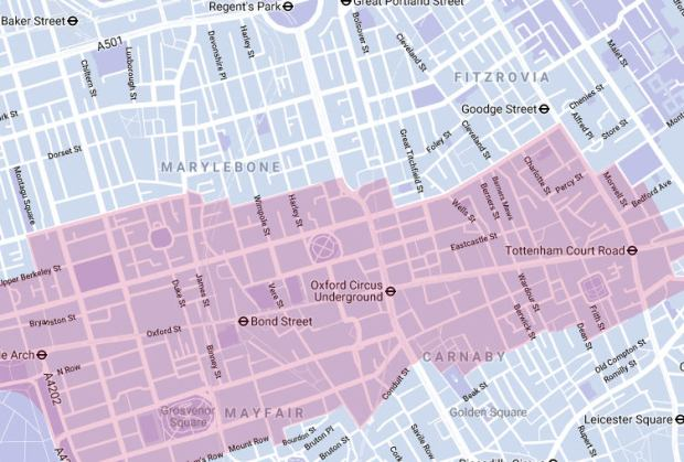 Westminster Council Seeks Local Views On Oxford Street District