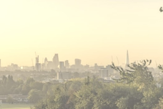 View from hill in Camden.