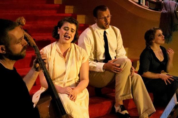 Opera cast.