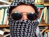 Man wearing a keffiyeh.
