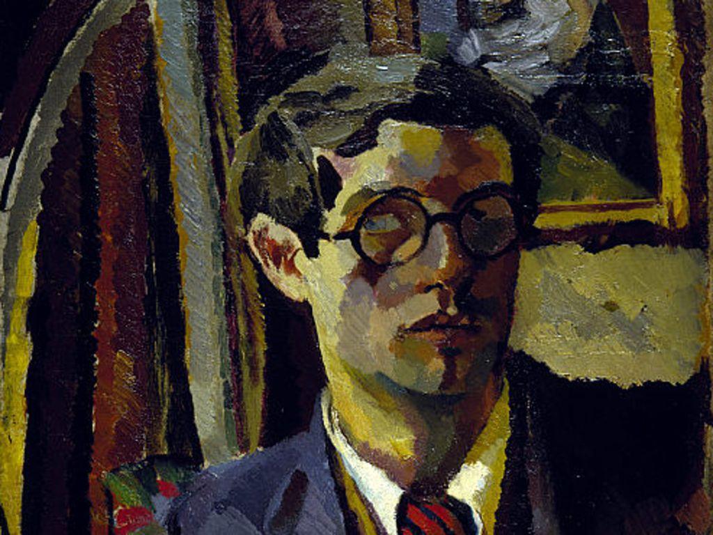 Oil on canvas. Portrait.